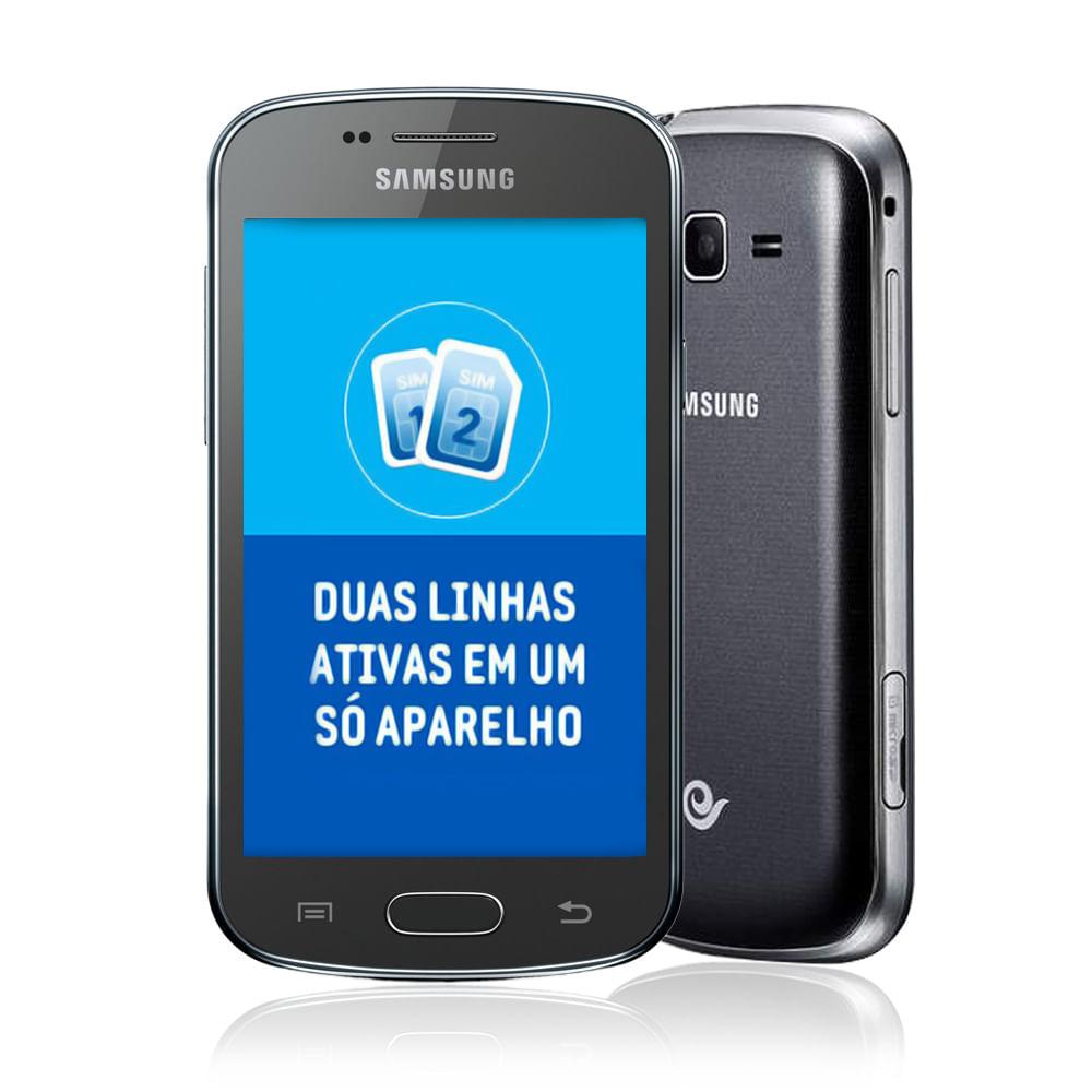 Smartphone desbloqueado samsung galaxy trend lite duos preto - Samsung galaxy trend lite smartphone ...