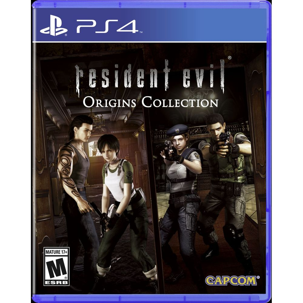 GAME RESIDENT EVIL ORIGINS - COLLECTION BR - PS4