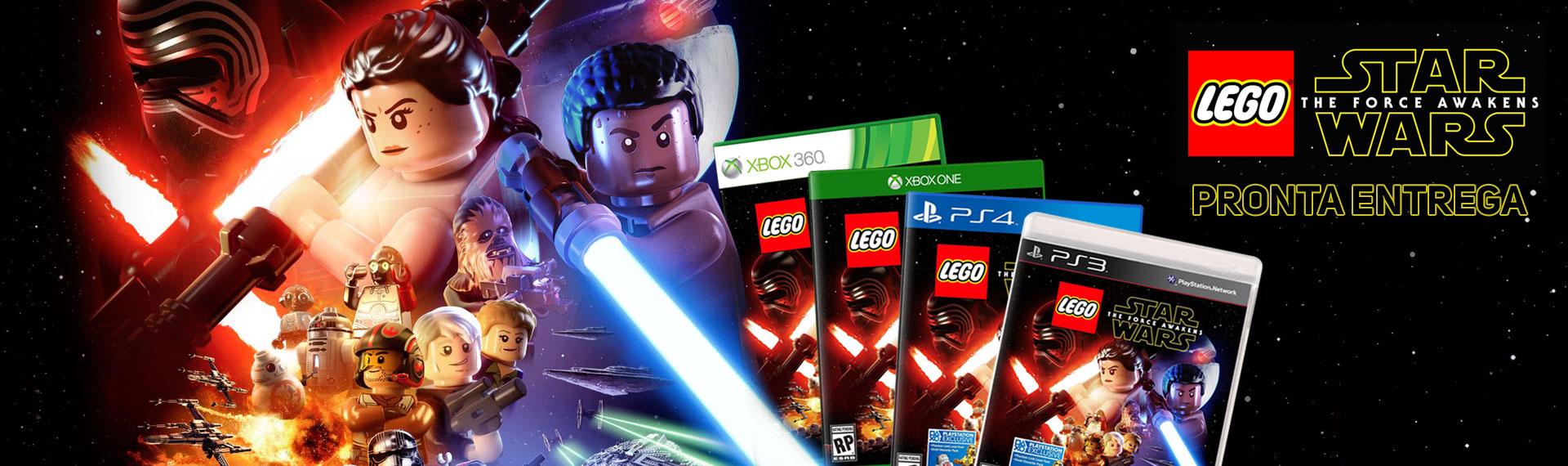 PRÉ-VENDA Lego Star Wars Ep VII