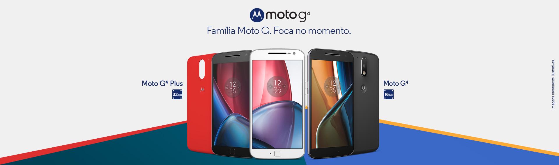 Banner Família MOTO G