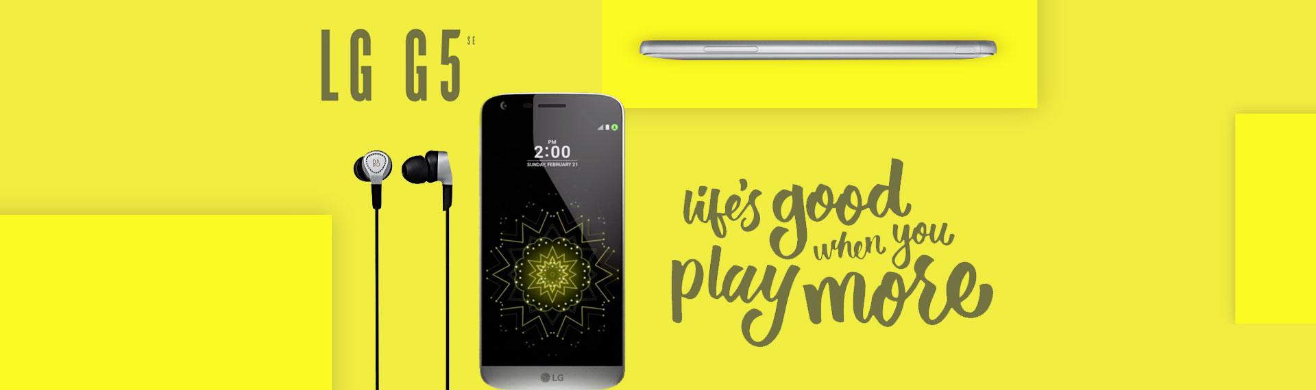 Banner Home LG G5