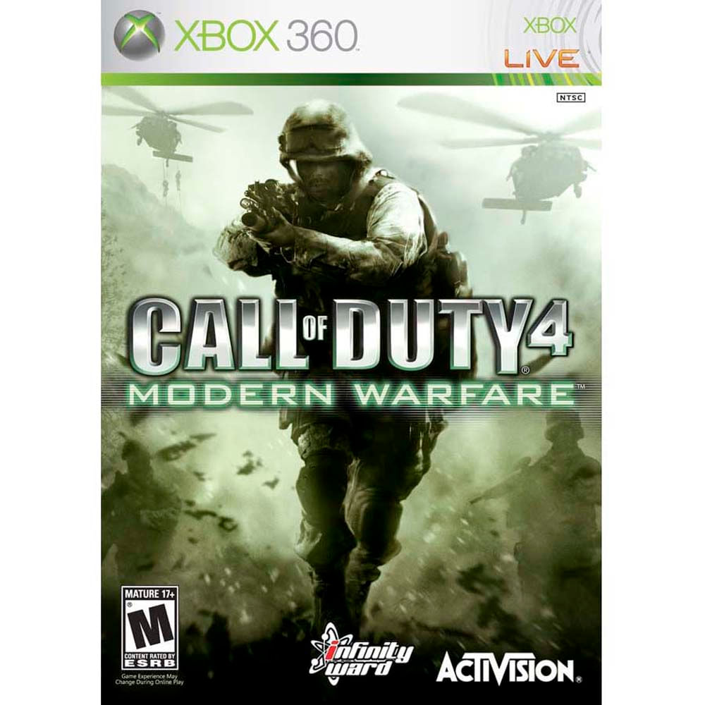 Jogo X360 Call Of Duty 4 Modern Warfare