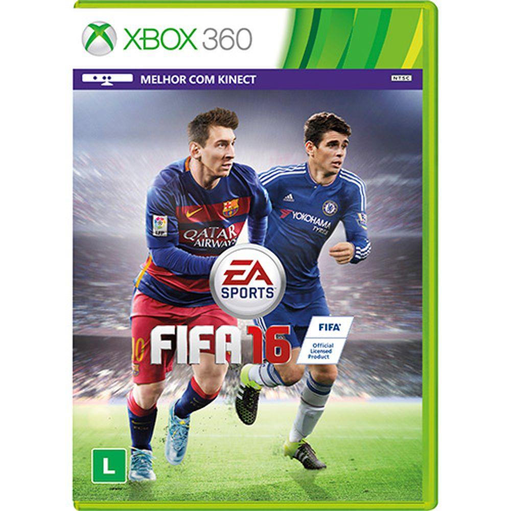Jogo Fifa 16 - Xbox 360 - Ea Sports