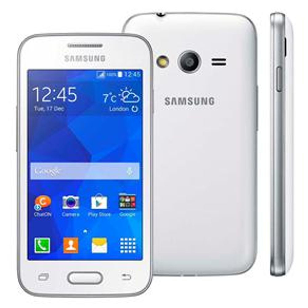Smartphone Samsung Galaxy Ace 4 Neo Single Branco - Smartphone Desbloqueado Samsung Galaxy Ace 4 Neo, Branco, Android 4.4, Tela 4 ´ , 4GB, Câmera 3MP, Processador 1.2 GHZ