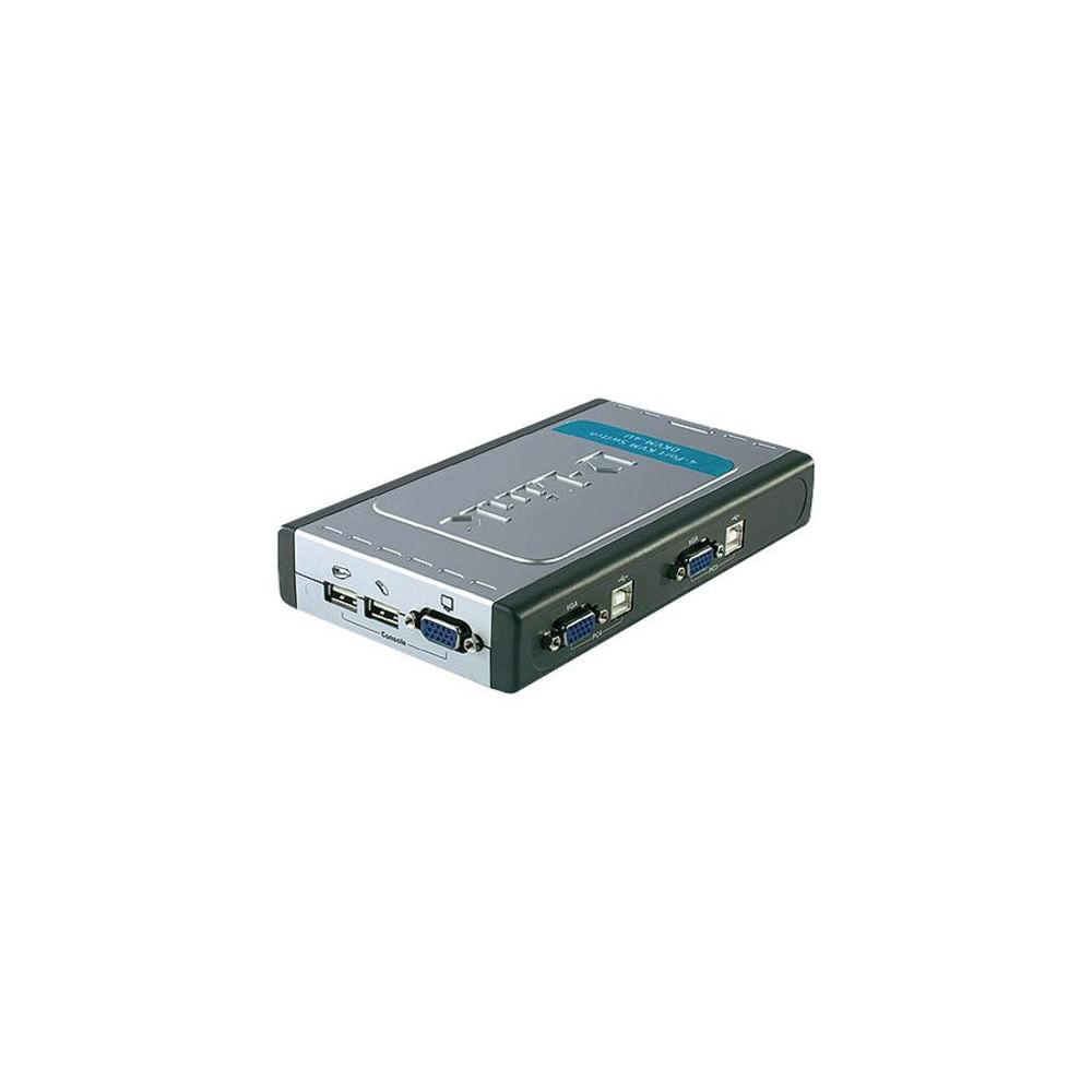 DLINK-DKVM-4U-SWITCH-KVM-4-PORTAS-USB