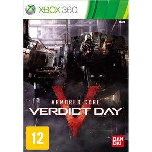 Jogo-Armored-Core-Veredict-Day-Xbox-360