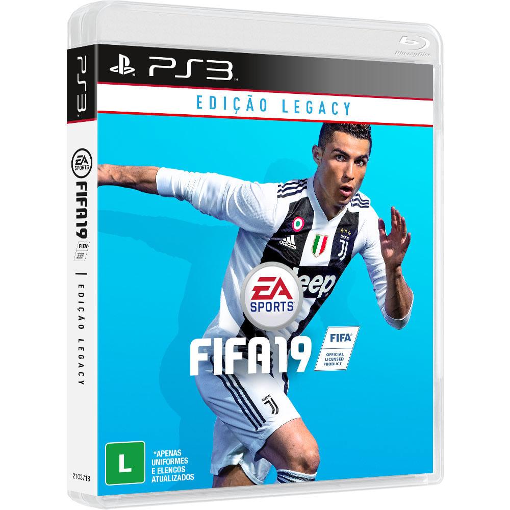 9583bdca64 Jogo FIFA 19 - PS3 - 2018-WebFones