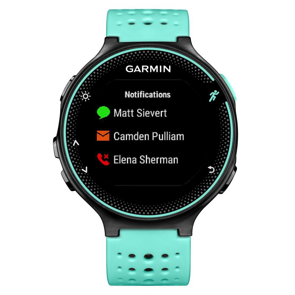 494970a6809 Monitor Cardíaco Garmin Forerunner 235 - Smartwatch GPS Para Corrida e Bike  - Preto e Azul
