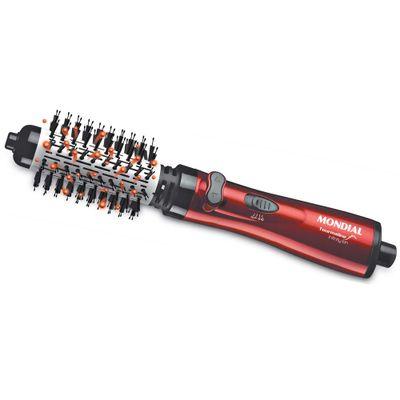 escova-rotativa-mondial-tourmaline-ion-er-03-com-cabo-giratorio-vermelha-preta-1000w-2293574