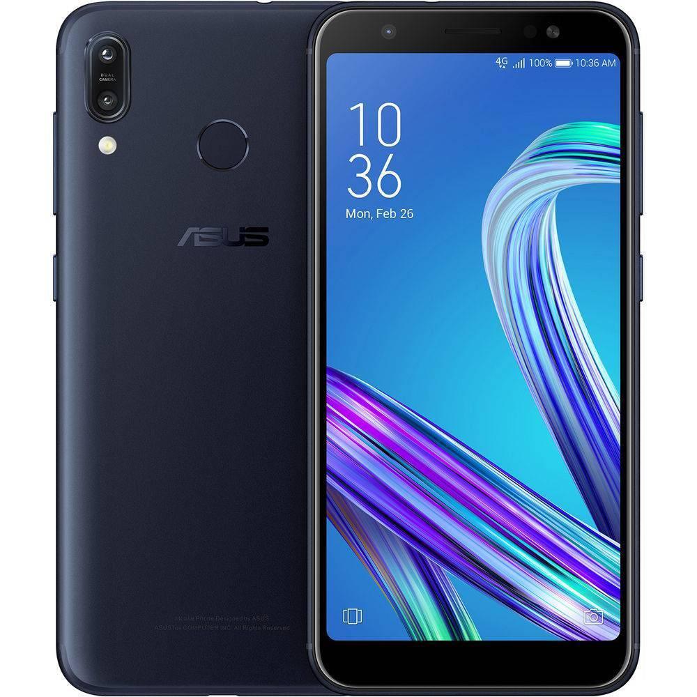 Smartphone ASUS ZB555 ZENFONE MAX M2 Preto 32 GB