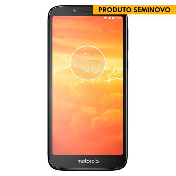 14932---SEMINOVOS----Smartphone-Motorola-XT1920-Moto-E5-Play-Preto-16-GB--2-