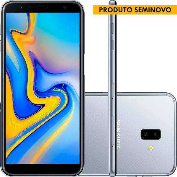 SEMINOVOS---SMARTPHONE-SAMSUNG-J610G-GALAXY-J6--PRATA-32-GB-WEBFONES--1-