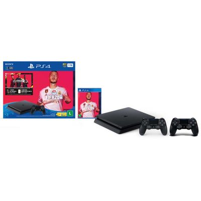 console-playstation-4-1tb-slim-fifa-20-bundle-controle-dualshok-4-preto-ps4