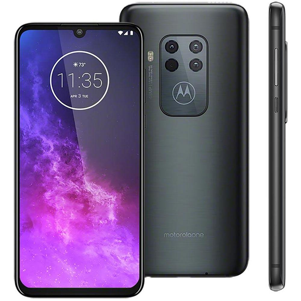 Smartphone Motorola XT2010 Moto One Zoom Titanium 128GB
