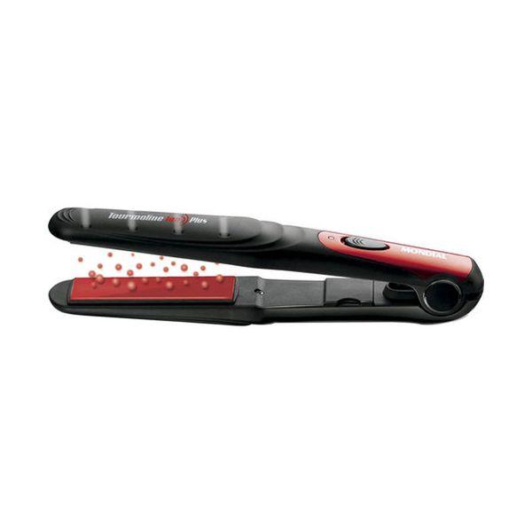 kit-escova-modeladora-e-prancha-especial-beauty-plus-mondial-vermelho-e-preto-127v-2