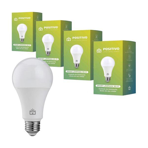 kit-com-4-lampadas-inteligentes-positivo-casa-inteligente-wi-fi-led-9w-branco-bivolt