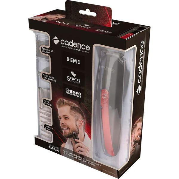 aparador-de-pelos-cadence-grm101-multi-trimmer-preto-vermelho-bivolt-5