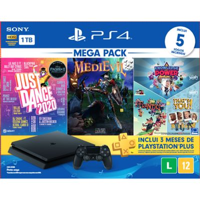 console-playstation-4-1tb-bundle-11-just-dance-2020-medievil-knowledge-is-power---frantics---that-s-you-1
