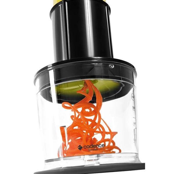spiralizer-cadence-spr100-2-em-1-mixer-e-cortador-eletrico-espiral-preto-127v-4