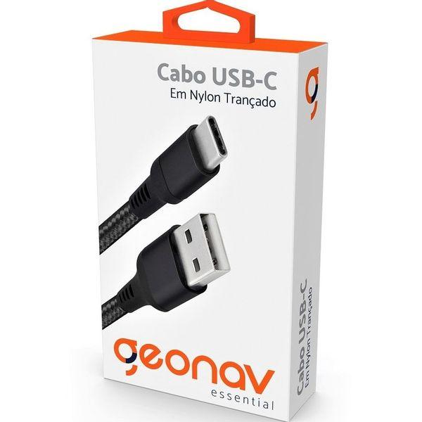 cabo-geonav-esc05-usb-c-em-nylon-trancado-essential-preto-2