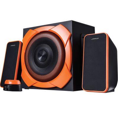 caixa-de-som-gamer-multilaser-sp266-warrior-odysseus-p2-2-1-50w-rms-com-subwoofer-preto-e-laranja-1