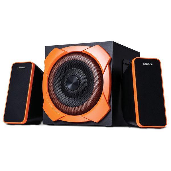 caixa-de-som-gamer-multilaser-sp266-warrior-odysseus-p2-2-1-50w-rms-com-subwoofer-preto-e-laranja-2