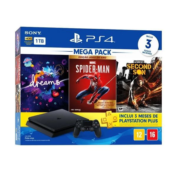 console-playstation-4-hits-1tb-bundle-17---dreams---marvel-s-spider-man---infamous-second-son---ps4-3