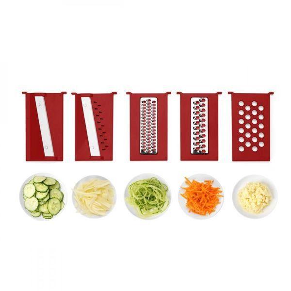 kit-cortador-de-alimentos-multilaser-ud005-21-pecas-descascador-ralador-corte-quadrado-e-espiral-up-home-branco-vermelho-4
