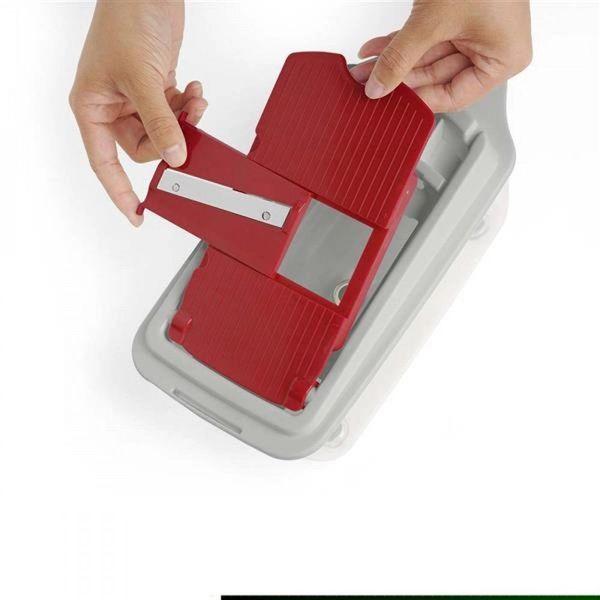 kit-cortador-de-alimentos-multilaser-ud005-21-pecas-descascador-ralador-corte-quadrado-e-espiral-up-home-branco-vermelho-5