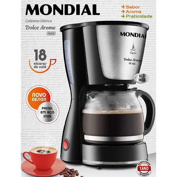 cafeteira-eletrica-dolce-arome-mondial-c-30-18-x-preto-inox-127v-2