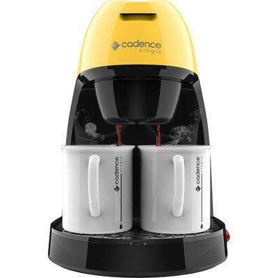 cafeteira-eletrica-cadence-single-colors-caf214-amarela-127v-2