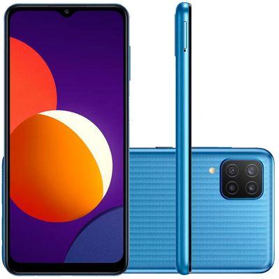 smartphone-samsung-galaxy-m12-64gb-4gb-de-ram-tela-infinita-de-6-5-camera-traseira-quadrupla-selfie-de-8mp-octa-core-azul