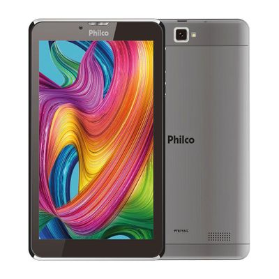 tablet-philco-ptb7srg-16gb-1gb-ram-tela-de-7-camera-traseira-2mp-camera-frontal-de-03-mp-wi-fi-e-android-pie-9.0-go-cinza-1